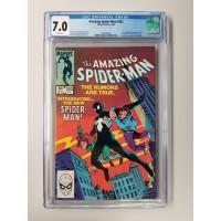 Amazing Spider-Man #252 CGC 7.0 1st Black Costume