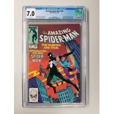 Amazing Spider-Man #252 CGC 7.0 1st Black Costume