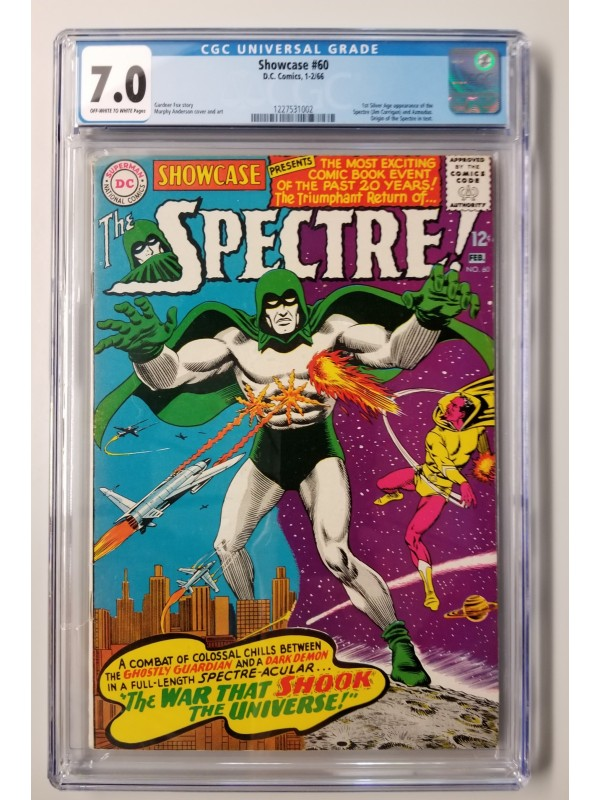 DC Showcase #60 CGC 7.0 - Spectre 1st Silver Age Appearance