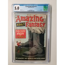 AMAZING ADULT FANTASY #14 CGC 5.0 - NEW CASE