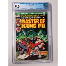 SPECIAL MARVEL EDITION #15 CGC 9.0   1ST APPEARANCE OF SHANG CHI