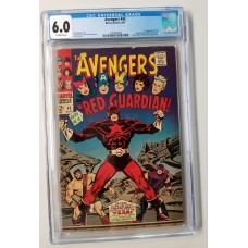 AVENGERS #43  CGC 6.0  - 1ST APPEARANCE OF  RED GUARDIAN (Black Widow Movie)