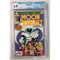 Moon Knight  #1 CGC 8.0 - 1st Appearance of Raoul Bushman
