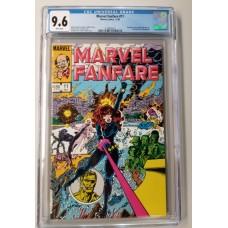 Marvel Fanfare #11 CGC 9.6 - 1st Iron Maiden (Black Widow Movie)