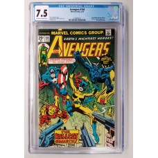 Avengers 144 CGC 7.5 - Patsy Walker becomes Hellcat
