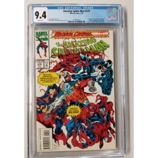 Amazing Spider-Man #379 CGC 9.4 - Carnage / Venom Appearance