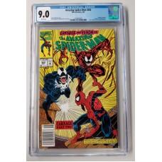 Amazing Spider-Man #362 CGC 9.0 - Carnage / Venom Appearance