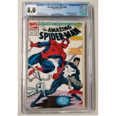 Amazing Spider-Man #358 CGC 8.0 Moon Knight, Nova, Punisher Appearances