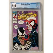 Amazing Spider-Man #347 CGC 9.4 Venom Appearance