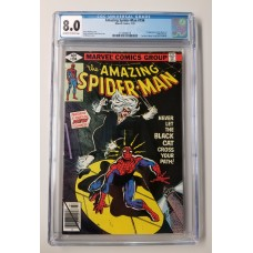 Amazing Spider-Man #194 CGC 8.0 - 1st Appearance of the Black Cat - New Case