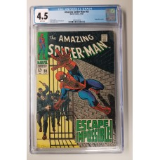 Amazing Spider-Man #65  CGC 4.5  -   Foggy Nelson Cameo - New Case