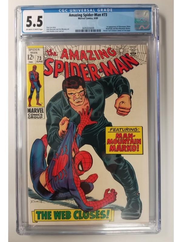 Amazing Spider-Man #73  CGC 5.5 - New Case