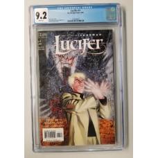 Lucifer #1 CGC 9.2  -  DC/Vertigo Comics - New Case