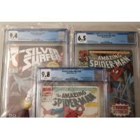 N8's Comics - ASM#333, ASM#358, ASM#359, ASM#379 And Silver Surfer v3 #50