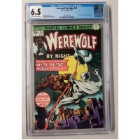 WEREWOLF BY NIGHT #33 CGC 6.5 - 2ND MOON KNIGHT APPEARANCE - NEW CASE