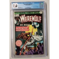 WEREWOLF BY NIGHT #33 CGC 7.0 - 2ND MOON KNIGHT APPEARANCE - NEW CASE