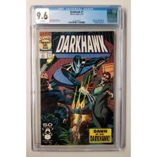 DARKHAWK #1 CGC 9.6