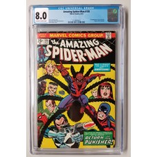 Amazing Spider-Man #135 CGC 8.0 - 2nd Appearance of the Punisher - New Case