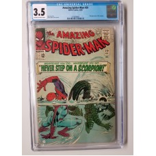 AMAZING SPIDER-MAN #29 CGC 3.5 - 2nd Appearance of the Scorpion - New Case