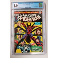 Amazing Spider-Man #135 CGC 5.0 - 2nd Appearance of the Punisher - New Case