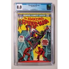 Amazing Spider-Man #136 CGC 8.0 - 1st Harry Osborn as the New Green Goblin - New Case