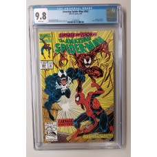 Amazing Spider-Man #362 CGC 9.8 - 1st Print - 2nd Appearance of Carnage - New Case