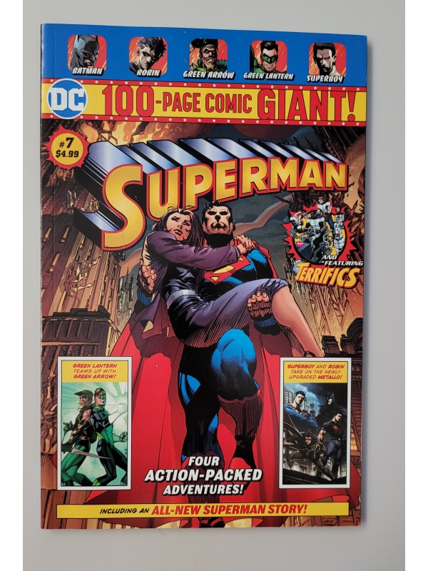 Superman #7 Giant Size Walmart Exclusive - High Grade - Controversial - Ungraded