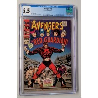 Avengers #43 CGC 5.5 - 1st Appearance of the Red Guardian - New Case