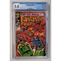 Fantastic Four Annual #6  CGC 5.0  -  1st Annihilus - New Case