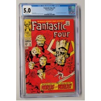 Fantastic Four #75 CGC 5.0 - Silver Surfer and Galactus Appearance - New Case