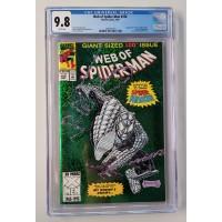 Web of Spider-Man #100 CGC 9.8
