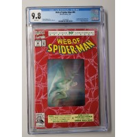Web of Spider-Man #90 CGC 9.8 - White Pages