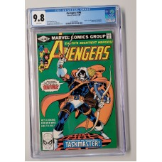 Avengers #196 CGC 9.8 - Taskmaster - 1st Appearance and Origin