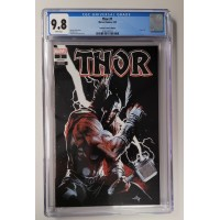 Thor #1 CGC 9.8 - Scorpion Comics Edition - White Pages  -  New Case