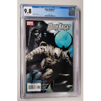Moon Knight #1 CGC 9.8 Finch - White Pages  - New Case