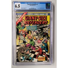 Giant-Size Defenders #3 - CGC 6.5  -   1st App of Korvac  -  New Case