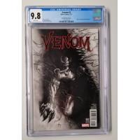 Venom #2 CGC 9.8 - Dell'Otto Sketch Cover -  New Case