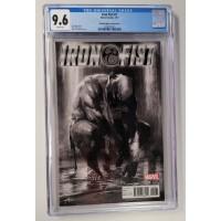 Iron Fist #1 CGC 9.6 - Dell'Otto Black & White Edition -  New Case