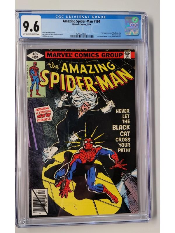Amazing Spider-Man #194 CGC 9.6 1st Black Cat
