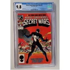 MARVEL Secret Wars #8 CGC 9.8 - White Pages