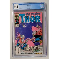 Thor #372 CGC 9.4 - White Pages  -  1st Time Variance - New Case
