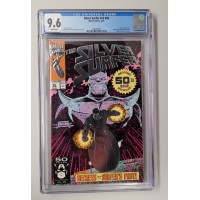 Silver Surfer V3 #50 CGC 9.6 - White Pages