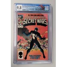 Marvel Secret Wars #8 CGC 9.8  1st Print - New Case