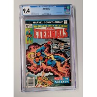 Eternals #3 CGC 9.4 - 1st Appearance of SERSI