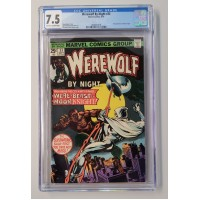 Werewolf By Night #33 - CGC 7.5 - 2nd Appearance of Moon Knight. - New Case