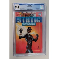 Static #1 CGC 9.4 Collector's Edition - 1st Static Appearance Virgil Hawkins New Case