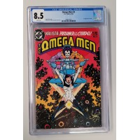 Omega Men #3 CGC 8.5 - 1st LOBO Appearance - White Pages - New Case
