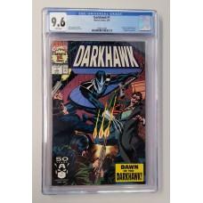DARKHAWK #1 - CGC 9.6 - 1st DARKHAWK Appearance - White Pages - New Case