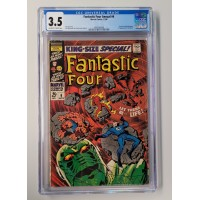 Fantastic Four Annual 6 CGC 3.5 - 1st appearance of Annihilus - New Case