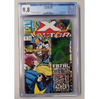 X-factor #92 CGC 9.8 White Pages -1st App Exodus - New Case